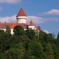 Povídání o Karlštejně a Konopišti ve svatebním salonku zámku Konopiště