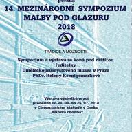 Výstava - mezinárodní sympozium malby pod glazuru