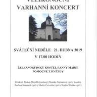 Velikonoční varhanní koncert
