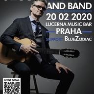 V Praze poprvé vystoupí slavný kanadský hudebník Jesse Cook