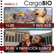 CargoBIO - kino na lodi 5.7.: V husí kůži / V paprscích slunce