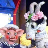 Pohádka o potrhlé koze Róze - Říše loutek
