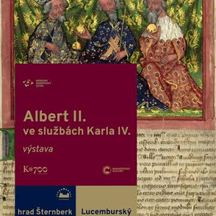 Albert II. ve službách Karla IV
