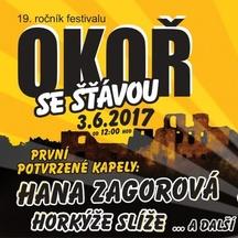 19. ročník Open Air festivalu Okoř se šťávou 2017