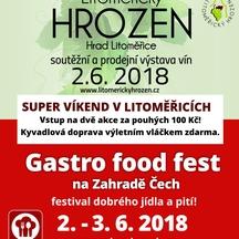 Super víkend v Litoměřicích: vína v hradu a pokrmy na Zahradě Čech. Dvě top akce jen za 100,- Kč!
