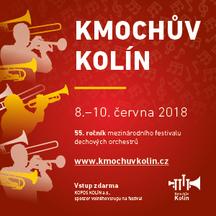 55. ročník festivalu dechové hudby KMOCHŮV KOLÍN
