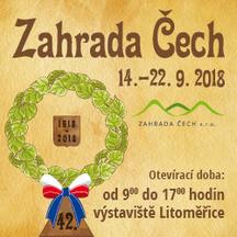 Zahrada Čech 2018 v Litoměřicích