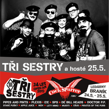 TŘI SESTRY - 34 LET OPEN AIR