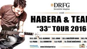 Habera a Team 33 Tour 2016 v O2 arena Praha