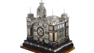 Exponát s příběhem. Jedinečný model Průmyslového paláce bude k vidění v Obecním domě