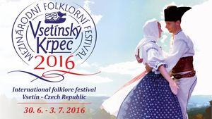 Mezinárodní folklorní festival Vsetínský krpec klepe na dveře