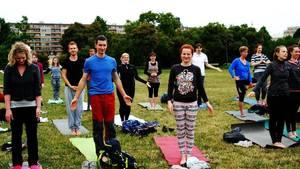 Čtvrteční lekce jógy zadarmo na Letné