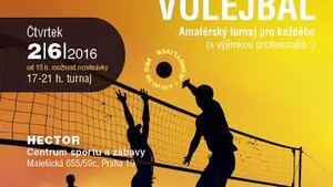 Malešický beach volejbal - amatérský turnaj pro každého