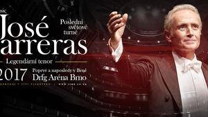 José Carreras poprvé a naposledy v Brně
