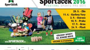 Sporťáček 2016 Plzeň - Festival sportu pro děti