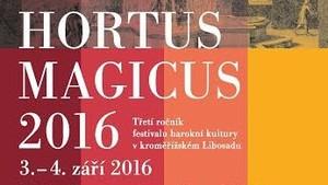 Hortus Magicus 2016 v Květné zahradě v Kroměříži