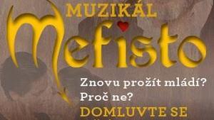 Muzikál Mefisto v Divadle Hybernia