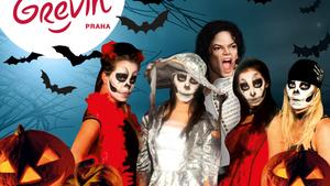 Když v muzeu straší hvězdy aneb Halloween v Grévinu