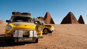 Trabantem napříč Afrikou - Divadlo Dobeška