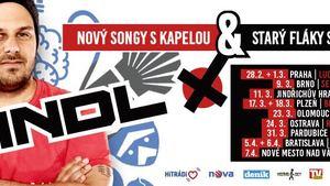 Xindl X - Koncertní turné k albu KVADRATURA ZÁCHRANNÉHO KRUHU v Ostravě