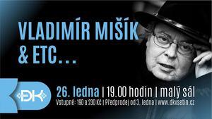 Vsetínský koncert Vladimíra Mišíka & ETC... bude pomyslnou oslavou hudebníkova jubilea