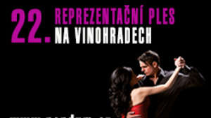 22. Reprezentační ples na Vinohradech