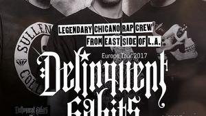 Hip-hopová kapela DELINQUENT HABITS opět navštíví české publikum