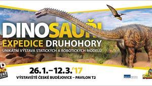 """VÝSTAVA """"Dinosauři – Expedice DRUHOHORY"""" právě začíná!"""