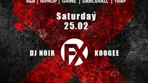 SWERVE FX - Djs: Noir, Just Craig (UK), Black Jesus, Koogee