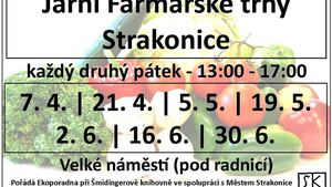 Farmářské trhy Strakonice 2017