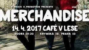 Americká kapela Merchandise oznámila nový termín pražského koncertu