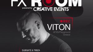 FX ROOM w/ VITON (AFXS, Greece) - LIVE TSREAMING PARTY / B-Day Dj Schwing