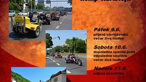6. karlštejnský sraz motorových tříkolek a motocyklů