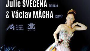 Závěrečný koncert Komorního cyklu vážné hudby ve Vsetíně bude patřit houslovému recitálu Julie Svěcené