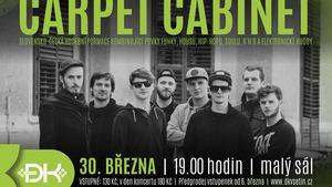 Kapela Carpet Cabinet, energická smršť moderních žánrů, rytmů a barev, zahraje ve Vsetíně