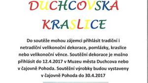 DUCHCOVSKÁ KRASLICE - 6. ročník