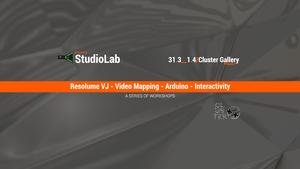 StudioLab: VJing_Video Mapping_Arduino_Interactivity Workshops