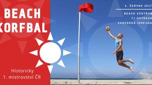 Beach korfbal - 1. mistrovství ČR