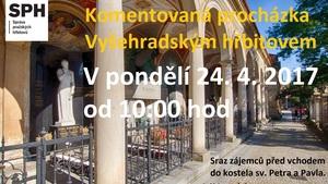 Komentovaná procházka Vyšehradským hřbitovem