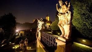Dvakrát za rok a jen na dvě až čtyři hodiny: Vrtbovská zahrada bude slavnostně nasvícena