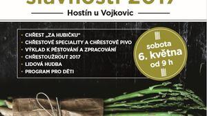 Chřestové slavnosti - Zemědělský areál Hostín u Vojkovic