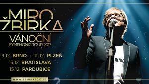 POPRVÉ spolu na jednom podiu! JAROSLAV SVĚCENÝ bude exkluzivním hostem Vánočního Symphonic Tour Mira Žbirky - Pardubice