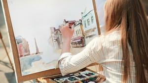 Malířský příměstský plenér pro dospělé