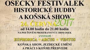 Osecký festiválek historické hudby a koňská show