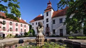 Veteráni na zámku Třeboň