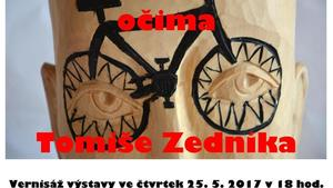 Výstava: Cyklosvět očima Tomiše Zedníka - Vyškov