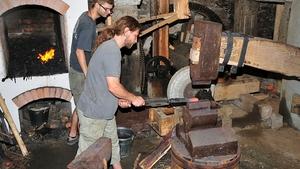 Kovářské řemeslo se vrací na Šlakhamr