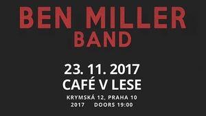 V Café V lese to v listopadu rozjedou Ben Mille Band