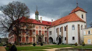 Dětské divadelní prohlídky s princeznami na zámku v Libochovicích