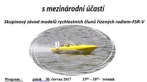 3. závod seriálu Mistrovství ČR FSR-V s mezinárodní účastí